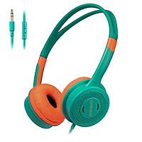 ONIKUMA M100 Kids Headphones 3.5mm Wired On Ear Headset Children Earphone Adjustable Headband w/ Microphone 85dB Limited
