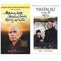 Combo 2 cuốn Thích Nhật Hạnh: Không Diệt Không Sinh Đừng Sợ Hãi + Thiền Sư Và Em Bé 5 Tuổi(Sách hay về trị liệu khổ đau và chữa lành vết thương)