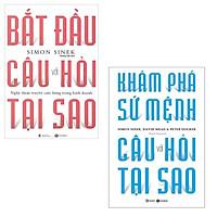 Sách Thái Hà - Combo Bắt Đầu Với Câu Hỏi Tại Sao + Khám Phá Sứ Mệnh Với Câu Hỏi Tại Sao (2 Cuốn)