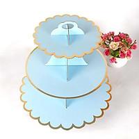 Đế bánh cupcake xanh ngọc