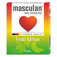 Hộp 3 Cái Bao Cao Su Masculan Frutti Edition