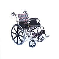Xe lăn thường có thắng bánh mâm vải caro ONE-X 809BJ