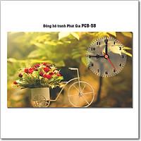 Đồng hồ tranh để bàn PGB-58