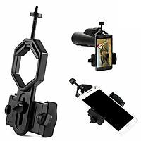 1 Universal Camera Phone Holder For Monocular Binoculars Telescope Adapter