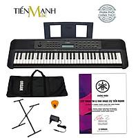 Bộ Đàn Organ Yamaha PSR-E273 - Đàn, Chân, Bao, Nguồn Keyboard PSR E273 Hàng Chính Hãng - Kèm Móng Gẩy DreamMaker