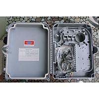 Hộp phối quang 24 sợi ngoài trời nhựa ODF 24FO Outdoor- Hàng nhập khẩu