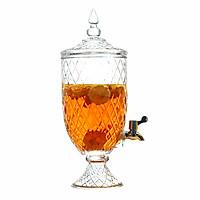 Bình Ngâm Rượu Trái Cây Thủy Tinh Pha Lê 4.5 Lít