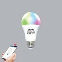 Bóng Đèn LED Thông Minh Smart Wifi MPE LB-9/SC - 9W - Điều khiển Công tắc/ Mobile App/ Giọng nói