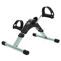 Folding Fitness Pedal Stepper Exercise Machine LCD Display Indoor Cycling Bike Stepper with Adjustable Resistance For