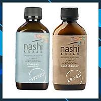 Bộ dầu gội xả Nashi Argan Capixyl cho tóc rụng và hư tổn khô xơ 200ml
