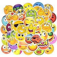 Set 30 Sticker Smile Face Emoji, mặt cười ảnh ép lụa( giao mẫu ngẫu nhiên)