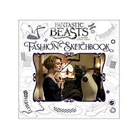 Harry Potter: Fantastic Beasts And Where To Find Them (Hardback) Fashion Sketchbook (English Book)