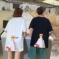 Spot M-2XL summer men's Cartoon Naruto loose Large short Couples T-shirt short-sleeved casual top