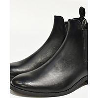 Giày Chelsea boot nam màu đen da trơn Revision 2