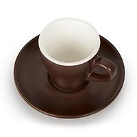 Ly (cốc) Uống Cà Phê Espresso 1 shot, color 75ml, cao cấp, sứ dày đầy đặn_Anni Coffee (nâu)