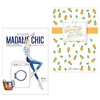 Combo Sách Mong Em Thật Hung Dữ Cũng Hãy Thật Dịu Dàng +  At Home With Madame Chic - Thanh Lịch Từ Những Khoảnh Khắc Đời Thường  ( Tặng Kèm Bookmark Green Life )