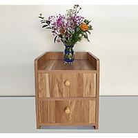 Tủ đầu giường loại nhỏ CAO CẤP chất lượng gỗ công nghiệp tốt bền đẹp có dịch vụ lắp ráp. Gỗ dày 1.5cm, Kích thước phù hợp với nhiều kích thước phòng nhỏ 32.5 x 26 x 40cm