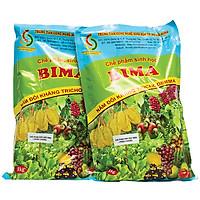 02 gói Phân bón sinh học BIMA - chế phẩm nấm đối kháng TRICHODERMA gói 1Kg