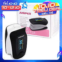 Máy đo nồng độ oxy máu và nhịp tim, chỉ số PI Jumper SPO2 JPD-500D OLED (CHỨNG NHẬN FDA HOA KỲ + XUẤT USA)
