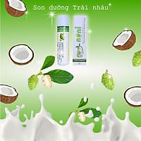 Son dưỡng môi Handmade ADEVA Noni 5gr - 100% nguyên liệu tự nhiên, Ăn nuốt đều an toàn, không chì, không hóa chất độc hại,  mẹ bầu và trẻ nhỏ đều có thể sử dụng được