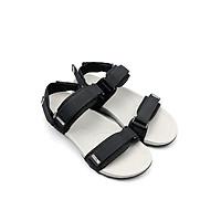 Giày Sandals Nam Quai Ngang SDDN101 Đen Xanh Rêu