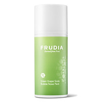 Mặt Nạ Frudia Greengrape Soda Bubble Nose Pack Làm Sạch Vùng Mũi Chiết Xuất Nho Xanh 32ml
