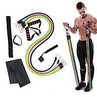 Bộ 5 Dây Ngũ Sắc Kháng Lực Đa Năng Tập Full Body Tại Nhà - Dụng Cụ Tập Gym Cao Cấp