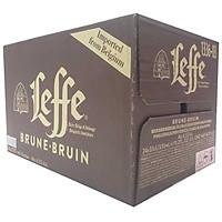 Thùng 24 Chai Bia Leffe Brune (330ml / Chai)