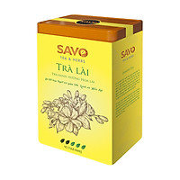 Trà SAVO Lài (Jasmine Tea) - Hộp 2 Túi x 100g