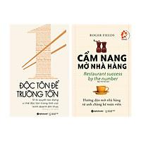 Combo Sách Cẩm Nang Mở Nhà Hàng + Độc Tôn Để Trường Tồn