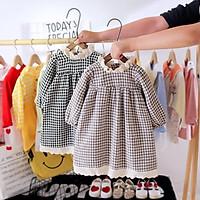 VN64 Size80-110 (6-18kg) đầm cho bé gái 1 tuổi đến 3 tuổi Thời trang trẻ Em hàng quảng châu
