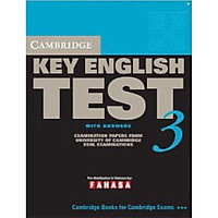 Cambridge Key English Test 3 with Answers