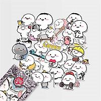 Quyby - Set 30 sticker hình dán