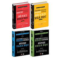 Sách Sổ Tay Toán học,Khoa học, Hình học,Hóa học ( Sách Tham khảo cho học sinh cấp II và cấp III)