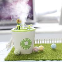 DIY Planting Air Humidifier USB Air Diffuser Purifier Atomizer Steamer Home Room Wedding Decoration