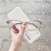 Gọng kính cận kim loại thời trang nam nữ Lilyeyewear 2713 nhiều màu