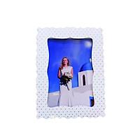 Khung hình giấy Fairy Corner chấm bi kích thước 13×18 (dạng đứng để bàn)