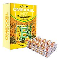 Thực Phẩm Chức Năng Viên Uống Bổ Sung Vitamin E Giúp Đẹp Da, Chống Lão Hóa, Hỗ Trợ Tim Mạch Omexxel E400 (30 Viên / Hộp)