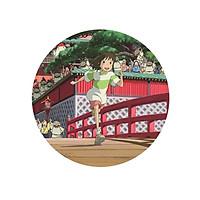 Huy hiệu Anime Ogino Chihiro Spirited Away Vùng đất linh hồn