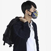 Khẩu trang thời trang cao cấp Soteria Rap ST188 - Khẩu trang vải than hoạt tính [size S,M,L]