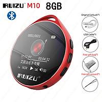 RUIZU M10 Bluetooth MP3 Player 8GB 16GB Portable Audio Walkman HIFI Music Player Built in Speaker Support EBook recording MP3 Video Player