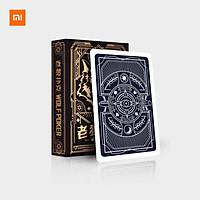 Xiaomi Chơi bài Poker Trò chơi Poker Bộ bài ma thuật bằng nhựa Thẻ chống thấm nước Trò chơi bảng ma thuật 57 * 87mm