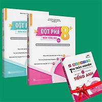 Sách - Combo Đột phá 8+(Phiên bản 2020) môn Tiếng anh tập 1 và Hóa học tập 1 (Tặng ngay 1 cuốn Ôn luyện thi TN THPTQG môn Tiếng anh)