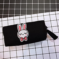 Hộp Bút Vải - Phối Sticker Thỏ