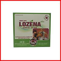 Thực phẩm bảo vệ sức khỏe SIRO HO LOZENA PLUS làm ấm đường hô hấp, làm dịu cơn ho