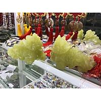 cặp tỳ hưu đá ngọc pakistan để bàn 15cm