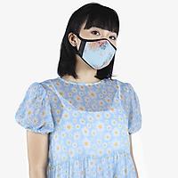 Khẩu trang thời trang cao cấp Soteria Flowers ST113 - Khẩu trang vải than hoạt tính [size S,M,L]