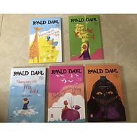 """Combo 5 Cuốn: Bộ Sách Của Roald Dahl - Nhà Văn Được Mệnh Danh Là """"Người Kể Chuyện Số 1 Thế Giới"""": Hươu cao cổ, chim bồ nông và tôi;  Ngón tay thần kì;  Những ngày xưa yêu dấu;  James và quả đào khổng lồ;  Phù thủy, phù thủy;"""