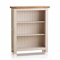 Tủ Sách Thấp Kemble Gỗ Sồi Ibie OSBSKEMO - Trắng (90 x 30 cm)