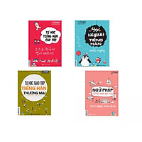 Combo Ngữ Pháp Tiếng Hàn Bỏ Túi + Tự Học Giao Tiếp Tiếng Hàn Thương Mại + Tự Học Tiếng Hàn Cấp Tốc +  Học Nhanh Tiếng Hàn Mỗi Ngày ( tặng kèm 1 bút chì dễ thương)
